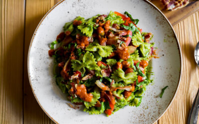 Pancetta Farfalle Pasta Salad Recipe