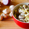 Farfalle and Mushroom Salad Recipe