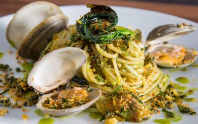 Spaghetti Alle Vongole with Ramps Recipe